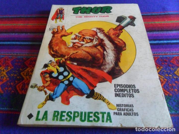 VÉRTICE VOL. 1 THOR Nº 25. 1972. 25 PTS. LA RESPUESTA. (Tebeos y Comics - Vértice - Thor)
