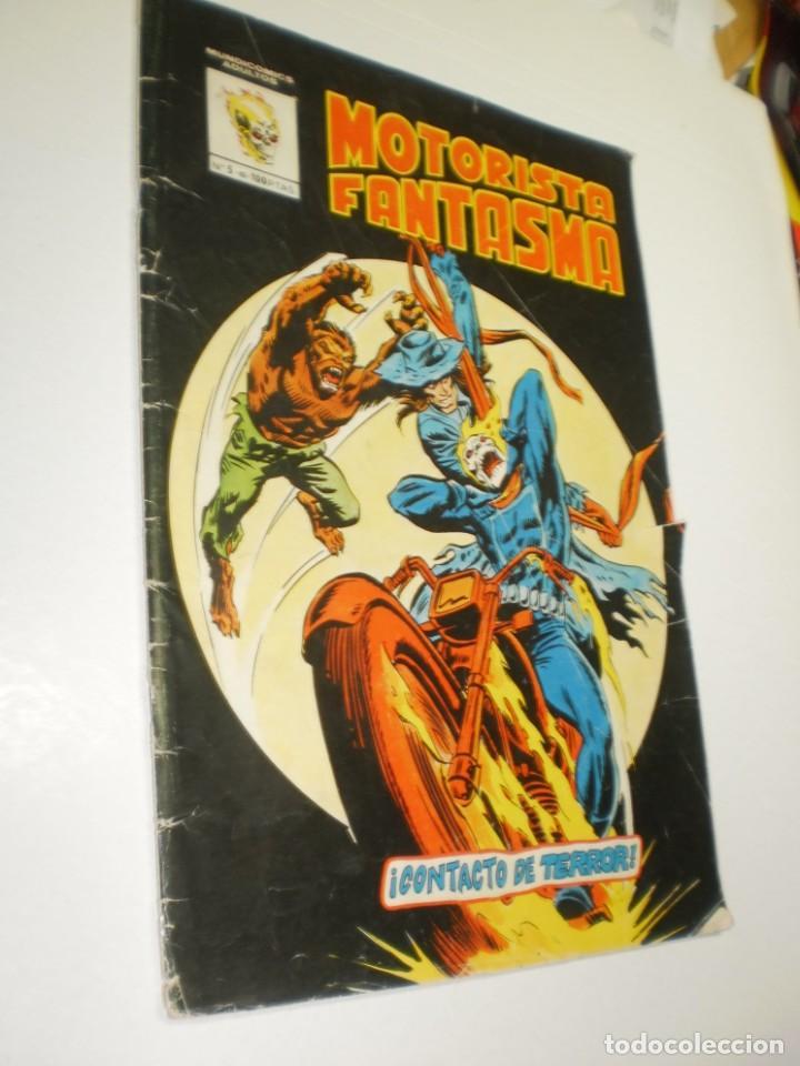 MOTORISTA FANTASMA Nº 5 VÉRTICE 1981 (ESTADO NORMAL, LEER) (Tebeos y Comics - Vértice - Otros)