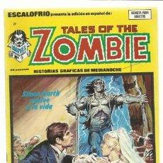 Cómics: ESCALOFRIO 29, 1975, VERTICE, BUEN ESTADO. COLECCIÓN A.T.. Lote 210179407