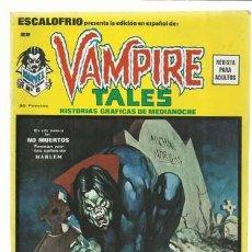 Cómics: ESCALOFRIO 22, 1974, VERTICE, MUY BUEN ESTADO. COLECCCIÓN A.T.. Lote 210180050