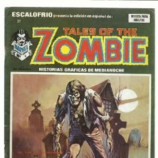 Cómics: ESCALOFRIO 21, 1974, VERTICE, BUEN ESTADO. COLECIÓN A.T.. Lote 210180235