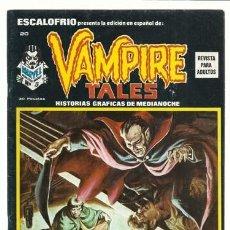 Cómics: ESCALOFRIO 20, 1974, VERTICE, MUY BUEN ESTADO. COLECCIÓN A.T.. Lote 210180365