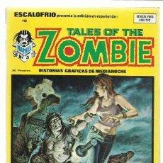 Cómics: ESCALOFRIO 18, 1974, VERTICE, MUY BUEN ESTADO. COLECCIÓN A.T.. Lote 210180625
