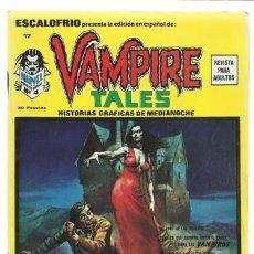 Cómics: ESCALOFRIO 17, 1974, VERTICE, MUY BUEN ESTADO. COLECCIÓN A.T.. Lote 210180730