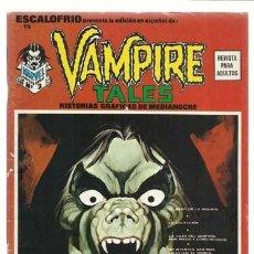 Cómics: ESCALOFRIO 13, 1974, VERTICE, BUEN ESTADO. COLECCIÓN A.T.. Lote 210181131