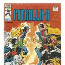 Cómics: PATRULLA-X VOL. 3 NÚMERO 22, 1976, VERTICE, MUY BUEN ESTADO. COLECCIÓN A.T.. Lote 210181895