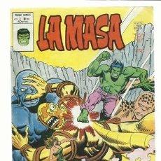Comics: LA MASA, VOLUMEN 3 NÚMERO 34, 1976, VERTICE, BUEN ESTADO. COLECCIÓN A.T.. Lote 210185035