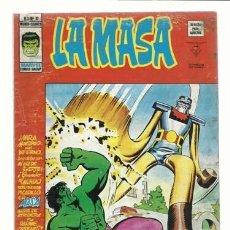 Cómics: LA MASA VOL. 3 NÚMERO 19, 1976, VERTICE, BUEN ESTADO. COLECCIÓN A.T.. Lote 210188160