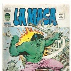 Cómics: LA MASA VOL. 3 NÚMERO 10, 1976, VERTICE, BUEN ESTADO. COLECCIÓN A.T.. Lote 210189281