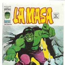 Cómics: LA MASA VOL. 3 NÚMERO 8, 1974, VERTICE, MUY BUEN ESTADO. COLECCIÓN A.T.. Lote 210189766