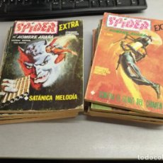 Fumetti: SPIDER EXTRA / LOTE 12 NÚMEROS: 4, 8, 9, 10, 11, 12, 15, 16, 17, 18, 21, 22 / VÉRTICE TACO. Lote 210190521