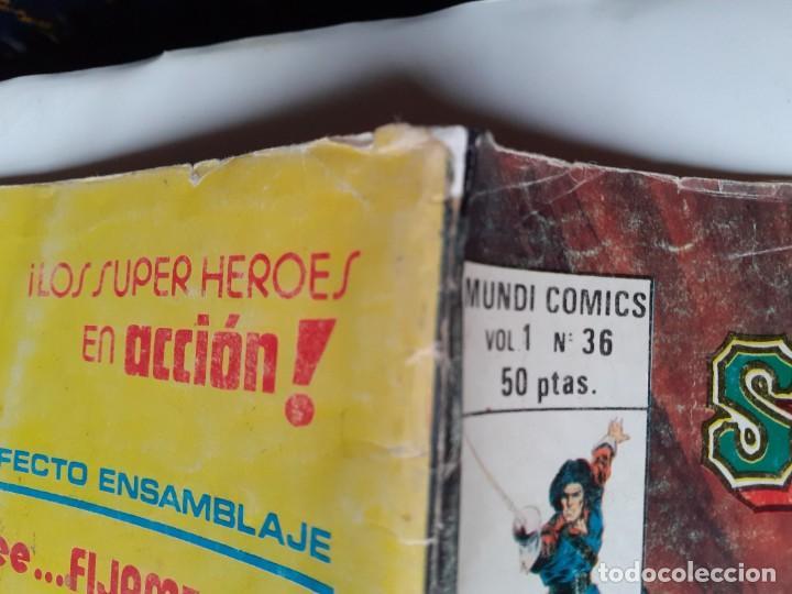 Cómics: LOS INSUPERABLES-VÉRTICE- Nº 36 -ÚLTIMO DE LA COLECCIÓN-SALOMÓN KANE-1978-REGULAR-DIFÍCIL-3770 - Foto 4 - 210203315