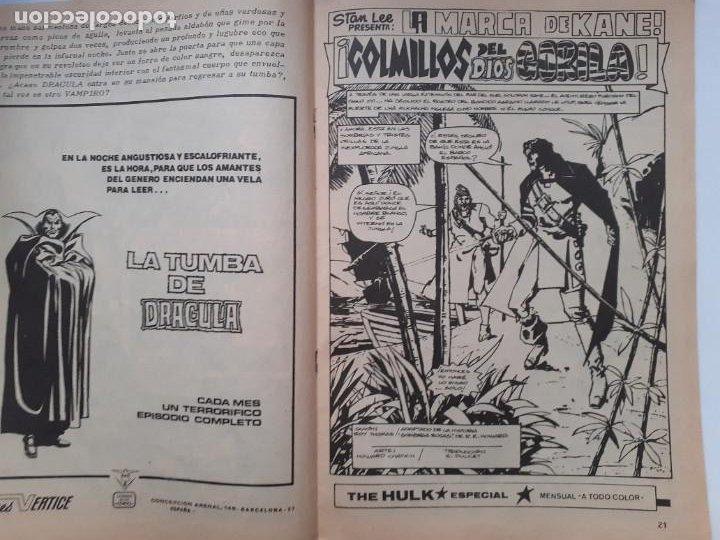 Cómics: LOS INSUPERABLES-VÉRTICE- Nº 36 -ÚLTIMO DE LA COLECCIÓN-SALOMÓN KANE-1978-REGULAR-DIFÍCIL-3770 - Foto 6 - 210203315