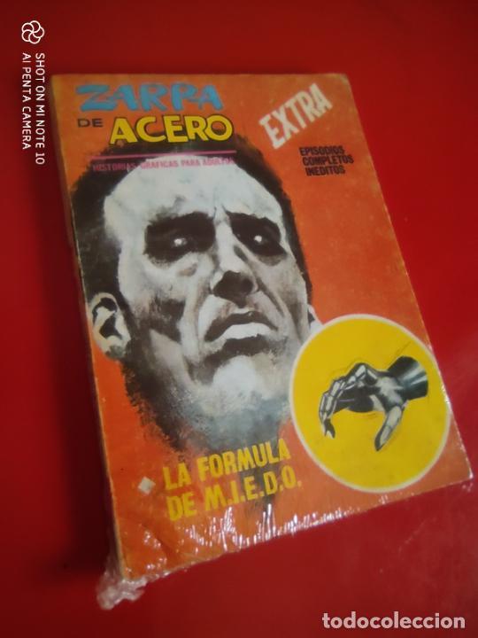 ZARPA DE ACERO V.1 - EXTRA Nº 14 - LA FORMULA DE M.I.E.D.O. - 1966 VERTICE 25 PTS . (Tebeos y Comics - Vértice - V.1)