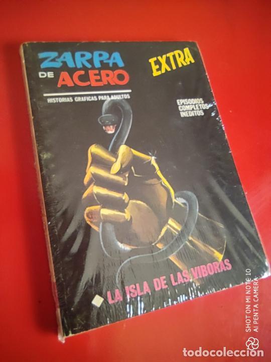 ZARPA DE ACERO V.1 - EXTRA Nº 19 - LA ISLA DE LAS VIBORAS - 1968 VERTICE 25 PTS . (Tebeos y Comics - Vértice - V.1)