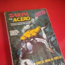 Cómics: ZARPA DE ACERO V.1 - EXTRA Nº 20 - CON EL AGUA AL CUELLO - 1968 VERTICE 25 PTS .. Lote 210274506
