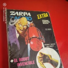 Cómics: ZARPA DE ACERO V.1 - EXTRA Nº 24 - EL ROBOT INVENCIBLE - 1968 VERTICE 25 PTS .. Lote 210276840