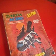 Cómics: ZARPA DE ACERO V.1 - EXTRA Nº 28 - EL CASTILLO LOBREGO - 1968 VERTICE 25 PTS .. Lote 210278175