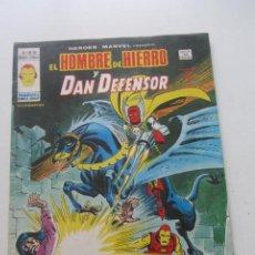 Cómics: HEROES MARVEL Nº 52 EL HOMBRE DE HIERRO Y DAN DEFENSOR. VERTICE 1979 BUEN ESTADO E2. Lote 210320922