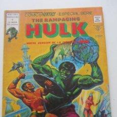 Cómics: THE RAMPAGING HULK - ESPECIAL 6 - ¡Y TODO EL MAR SON MONSTRUOS! VERTICE 1979 BUEN ESTADO E2. Lote 210322083