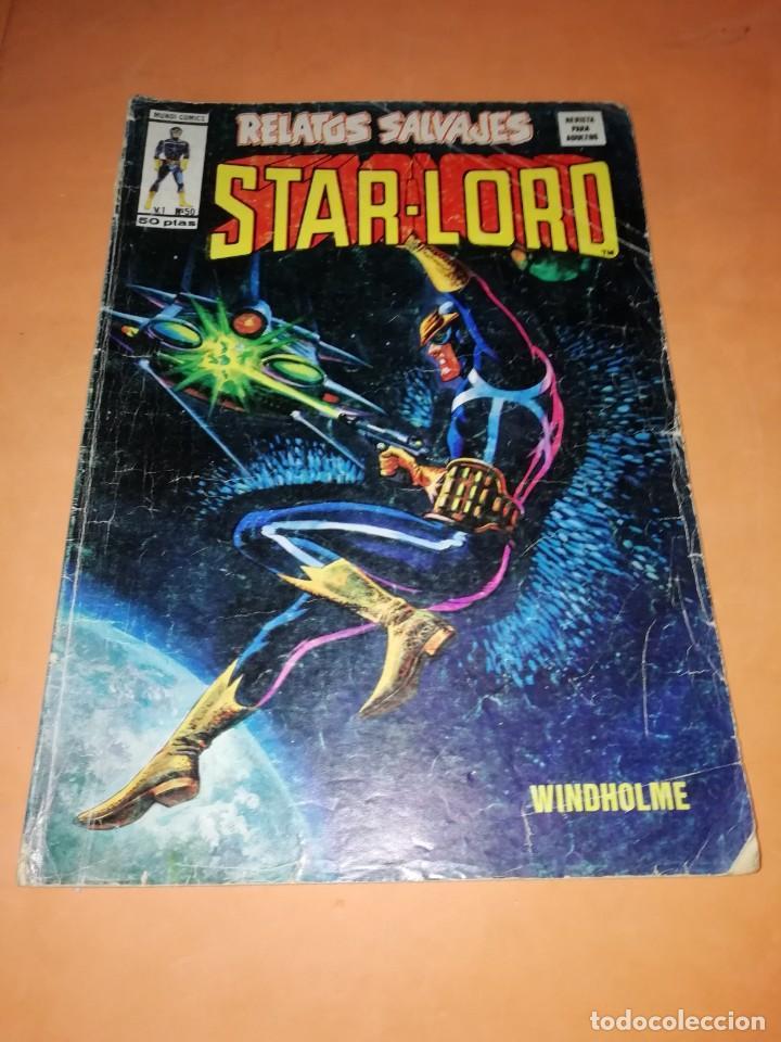 RELATOS SALVAJES. STAR-LORD. WINDHOLME. VERTICE. MUNDI COMICS V.1 Nº 50 (Tebeos y Comics - Vértice - Relatos Salvajes)