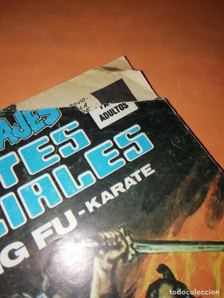 Cómics: RELATOS SALVAJES. ARTES MARCIALES. HILOS DE MALDAD..RED DE ODIO. VERTICE. MUNDI-COMICS Nº 26 - Foto 4 - 210325356