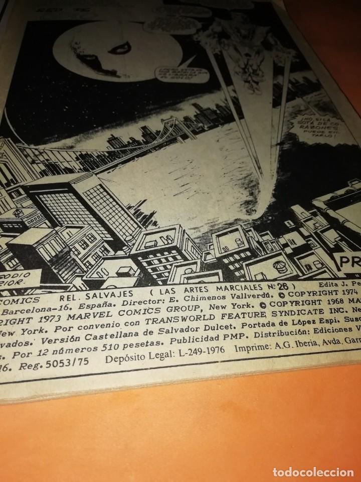 Cómics: RELATOS SALVAJES. ARTES MARCIALES. HILOS DE MALDAD..RED DE ODIO. VERTICE. MUNDI-COMICS Nº 26 - Foto 6 - 210325356