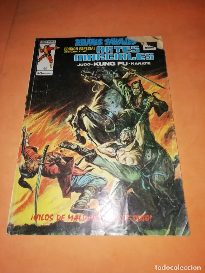 RELATOS SALVAJES. ARTES MARCIALES. HILOS DE MALDAD..RED DE ODIO. VERTICE. MUNDI-COMICS Nº 26 (Tebeos y Comics - Vértice - Relatos Salvajes)
