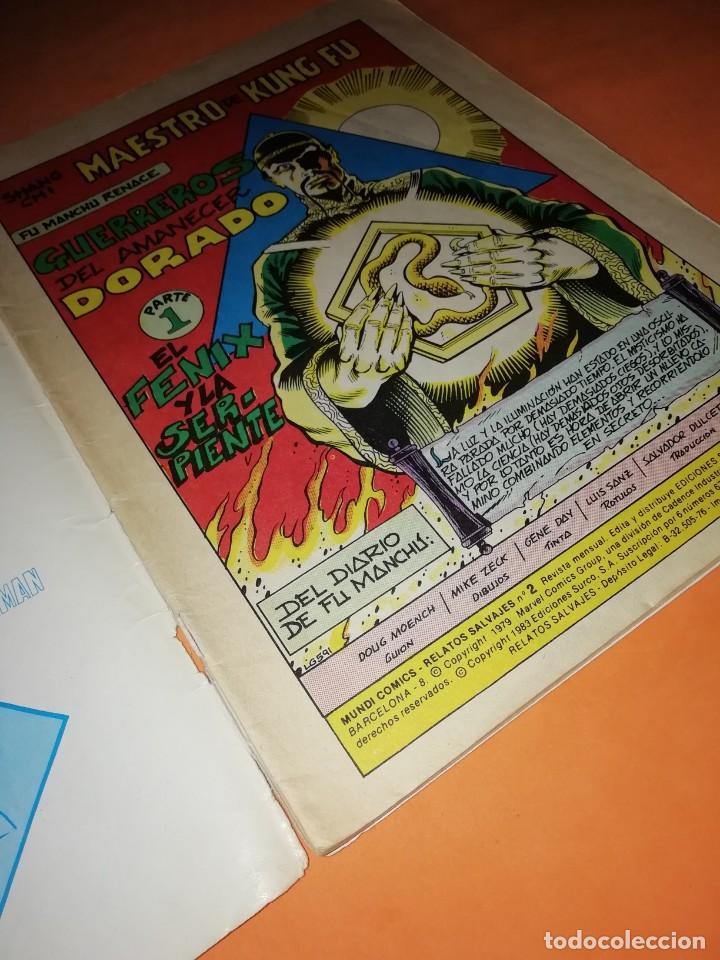 Cómics: JUDO-KARATE-KUNG-FU. GUERREROS DEL AMANECER DORADO. SURCO. LINEA 83 Nº 2 - Foto 3 - 210326701