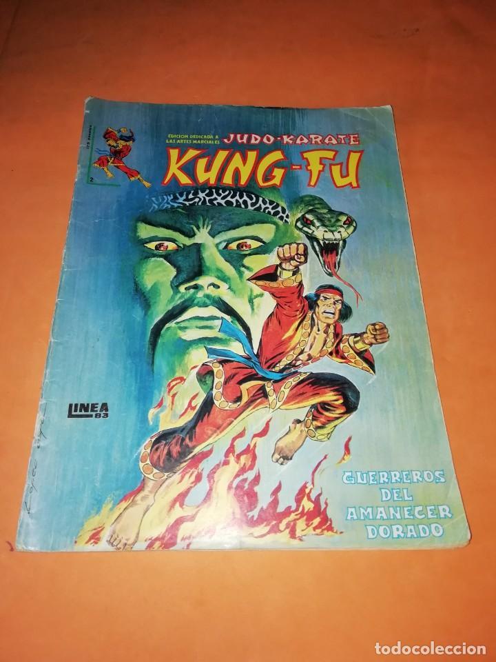JUDO-KARATE-KUNG-FU. GUERREROS DEL AMANECER DORADO. SURCO. LINEA 83 Nº 2 (Tebeos y Comics - Vértice - Surco / Mundi-Comic)