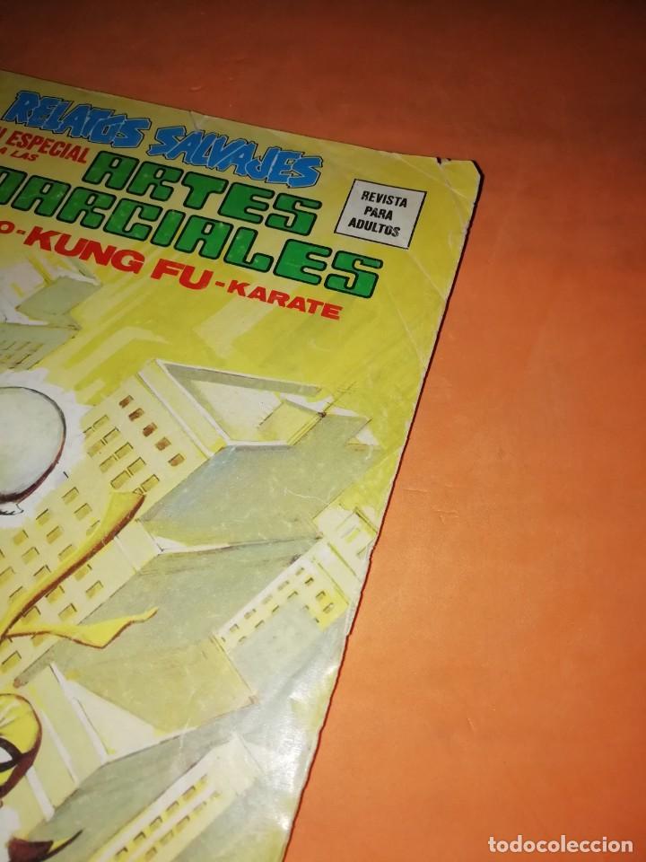 Cómics: RELATOS SALVAJES. ARTES MARCIALES. CUANDO MATA LA CIMITARRA. VERTICE MUNDI-COMICS Nº 22 - Foto 4 - 210327567