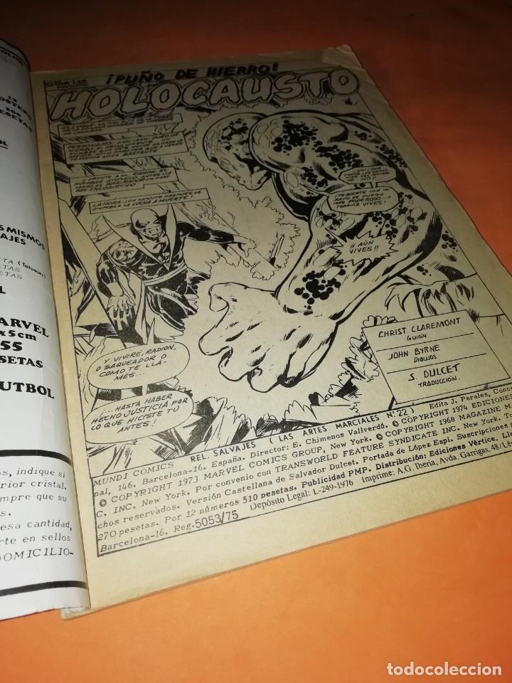 Cómics: RELATOS SALVAJES. ARTES MARCIALES. CUANDO MATA LA CIMITARRA. VERTICE MUNDI-COMICS Nº 22 - Foto 5 - 210327567