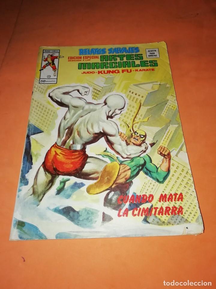 RELATOS SALVAJES. ARTES MARCIALES. CUANDO MATA LA CIMITARRA. VERTICE MUNDI-COMICS Nº 22 (Tebeos y Comics - Vértice - Relatos Salvajes)