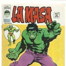Cómics: LA MASA VOL. 3 NÚMERO 1, 1975, VERTICE, BUEN ESTADO. COLECCIÓN A.T.. Lote 210331973