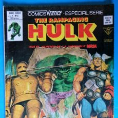 Cómics: THE RAMPAGING HULK VOL. 1 Nº 9 VERTICE. Lote 210386397
