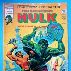 Cómics: THE RAMPAGING HULK VOL. 1 Nº 6 - ESPECIAL LA MASA - VERTICE. Lote 210386547