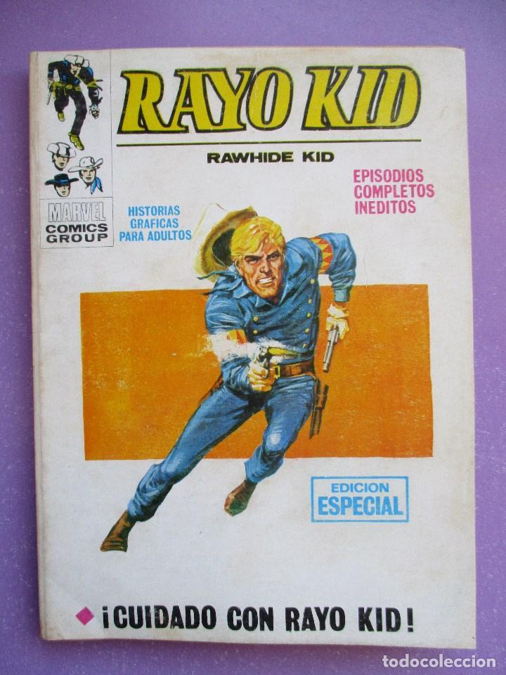 RAYO KID Nº 7 VERTICE TACO ¡¡¡ BUEN ESTADO!!! (Tebeos y Comics - Vértice - V.1)