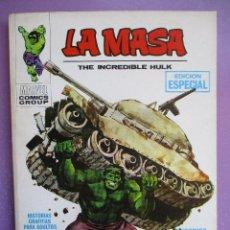 Cómics: LA MASA Nº 1 VERTICE TACO ¡¡¡ EXCELENTE ESTADO!!!. Lote 210409413