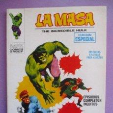 Cómics: LA MASA Nº 3 VERTICE TACO ¡¡¡ MUY BUEN ESTADO!!!. Lote 210409873