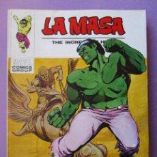 Cómics: LA MASA Nº 27 VERTICE TACO ¡¡¡ BUEN ESTADO!!!. Lote 210410438