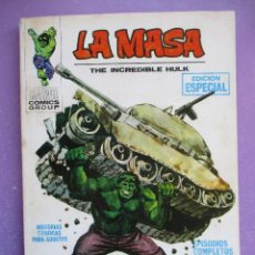 Cómics: LA MASA Nº 1 VERTICE TACO ¡¡¡ BUEN ESTADO!!!. Lote 210410733