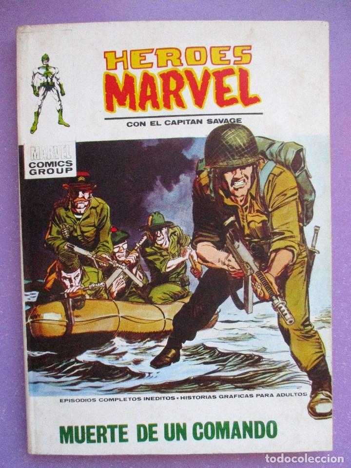 HEROES MARVEL Nº 12 VERTICE TACO ¡¡¡ BUEN ESTADO!!! (Tebeos y Comics - Vértice - V.1)