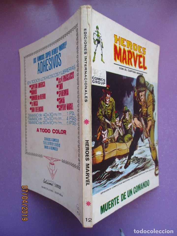 Cómics: HEROES MARVEL Nº 12 VERTICE TACO ¡¡¡ BUEN ESTADO!!! - Foto 3 - 210412746