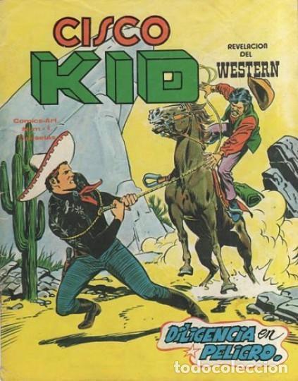 CISCO KID-REVELACIÓN DEL WESTERN- Nº 4 - DILIGENCIA EN PELIGRO-1980-BUENO-DIFICIL-LEAN-3793 (Tebeos y Comics - Vértice - Otros)