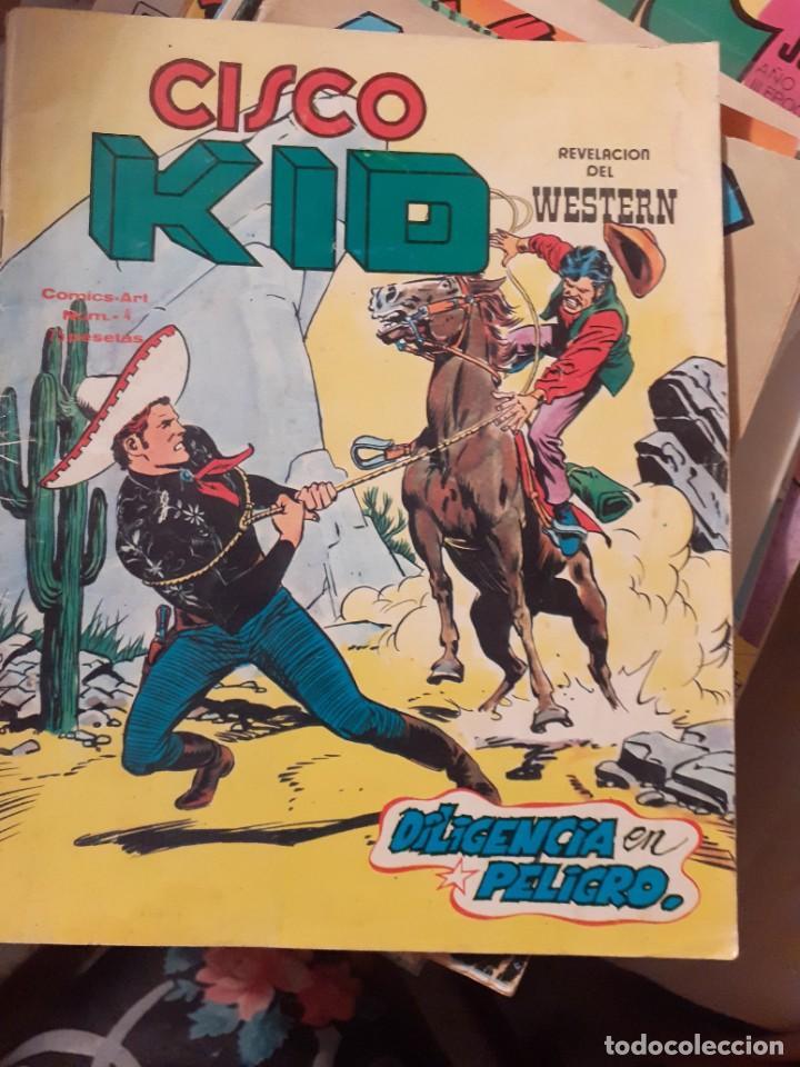 Cómics: CISCO KID-REVELACIÓN DEL WESTERN- Nº 4 - DILIGENCIA EN PELIGRO-1980-BUENO-DIFICIL-LEAN-3793 - Foto 2 - 210417496