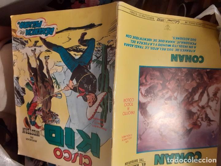 Cómics: CISCO KID-REVELACIÓN DEL WESTERN- Nº 4 - DILIGENCIA EN PELIGRO-1980-BUENO-DIFICIL-LEAN-3793 - Foto 3 - 210417496