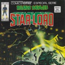 Cómics: RELATOS SALVAJES NUMERO 67. VERTICE. MUY BUEN ESTADO. NUMERO DEDICADO A STAR-LORD. Lote 210544255