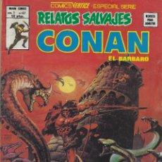 Cómics: RELATOS SALVAJES NUMERO 67. VERTICE. BUEN ESTADO. NUMERO DEDICADO A CONAN. Lote 210544806