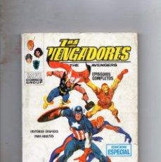 Cómics: COMIC VERTICE 1969 LOS VENGADORES VOL1 Nº 2 ( BUEN ESTADO ). Lote 210575897