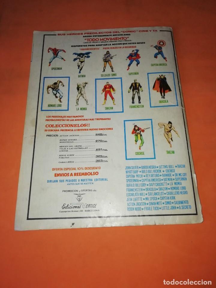 Cómics: DAN DEFENSOR. LA HUIDA DE TORPEDO. EDICION ESPECIAL 1977. VERTICE. - Foto 2 - 210594176
